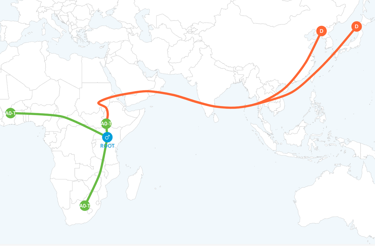 DNA father migration map 2
