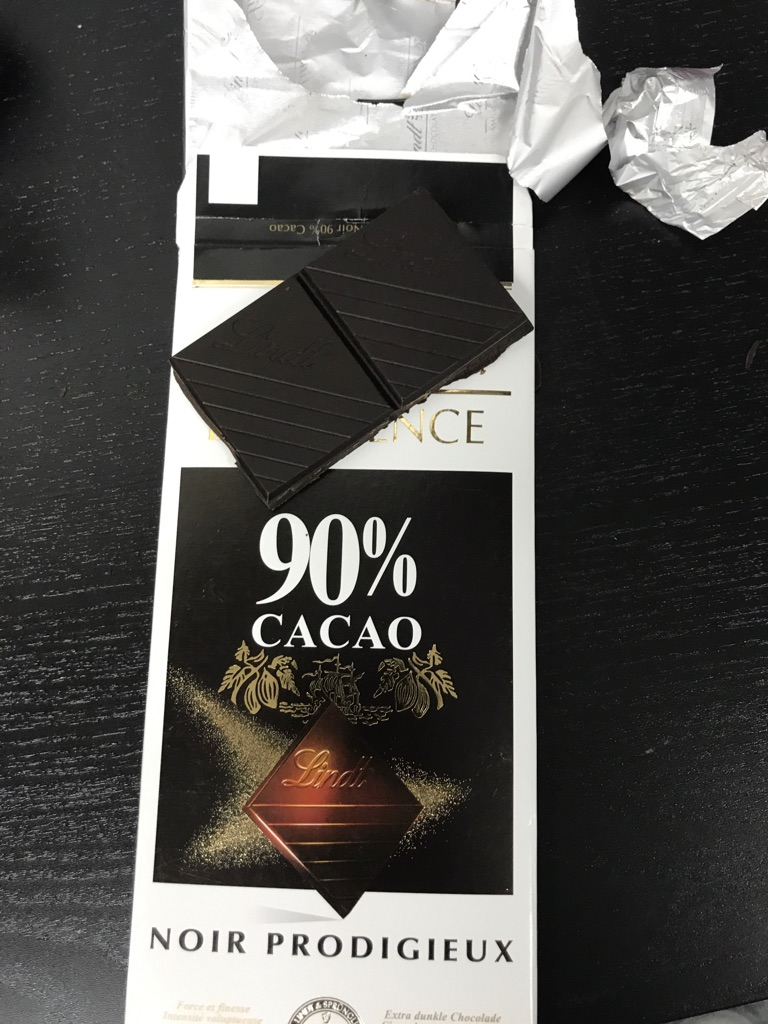 Lindt cacao 90%