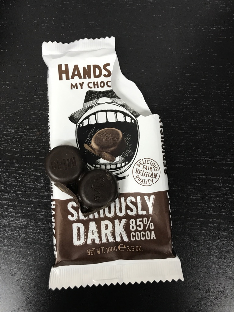 hands off my chocolate cacao 85%