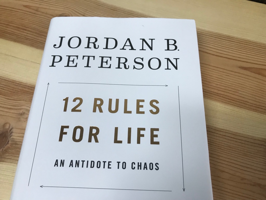 12 rules for life an antidote to chaos 人生の12のルール カオスへ