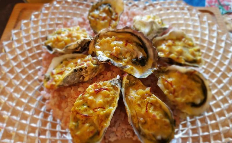 焼き牡蠣のカレーソース~geefeeレシピ~