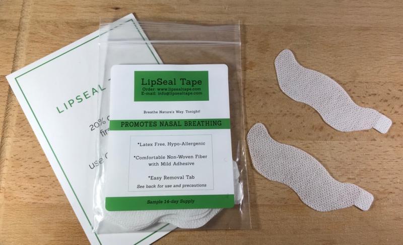 口臭・イビキ対策の効果は?「LipSeal Tape」で鼻呼吸の習慣を身につけ睡眠の質を改善
