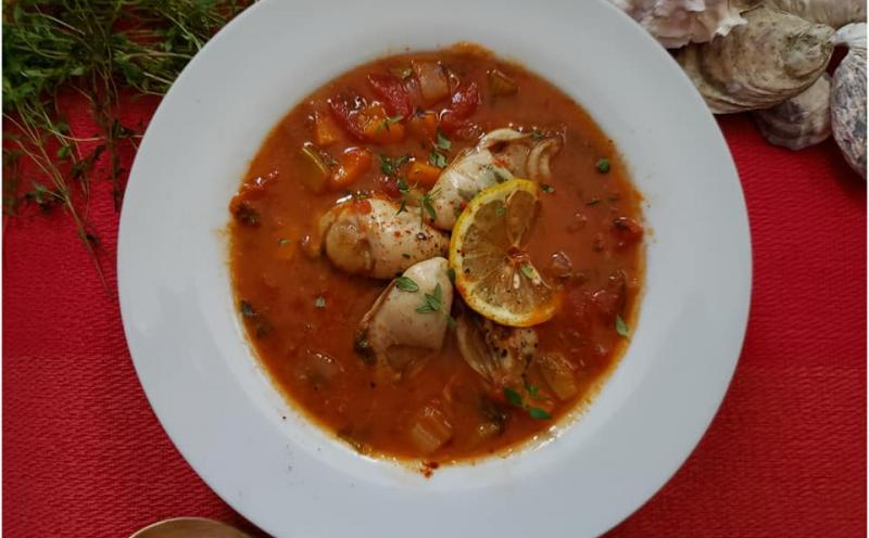 牡蠣のトマトスープ~geefeeレシピ~
