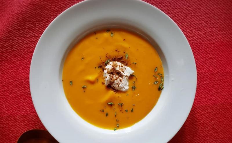 ローストバターナッツかぼちゃのスープ~geefeeレシピ~
