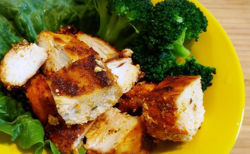 鶏むね肉のケイジャンスパイス~geefeeレシピ~