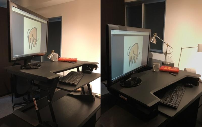エルゴトロン社 スタンディングデスク「WorkFit-TL」座って立って座る、が職場でのスタンダードになりつつある!