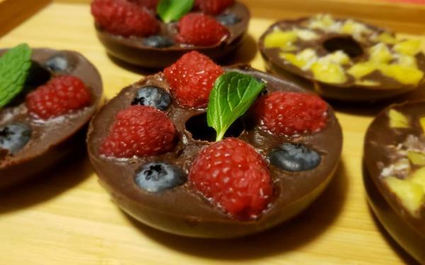 フレッシュフルーツ ココナッツチョコレート