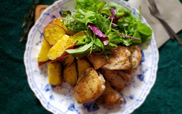 鶏むね肉のソテー アップルサイダービネガー風味~geefeeレシピ~