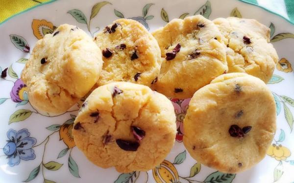 ココナッツ&カカオニブのクッキー~geefeeレシピ~