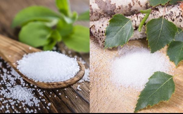 天然甘味料ステビアとキシリトールのあまり知られていない健康機能