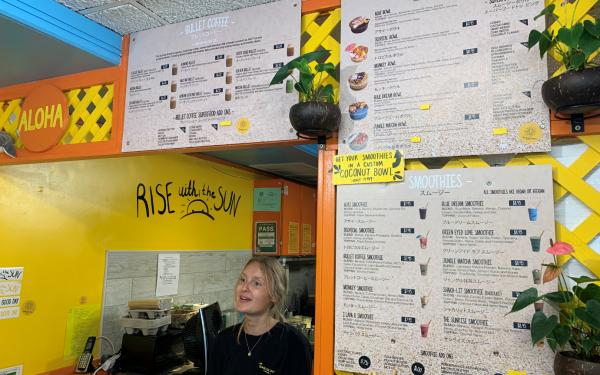 バターコーヒーが楽しめるハワイのワイキキのコーヒースタンド「The Sunrise Shack」