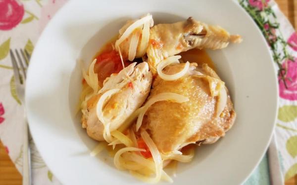 チキンのビネガー煮~geefeeレシピ~